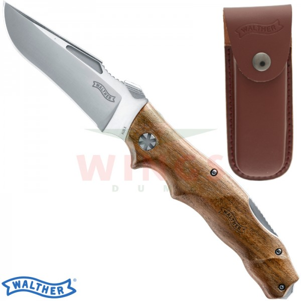 Walther Adventure Folder Wood lockmes