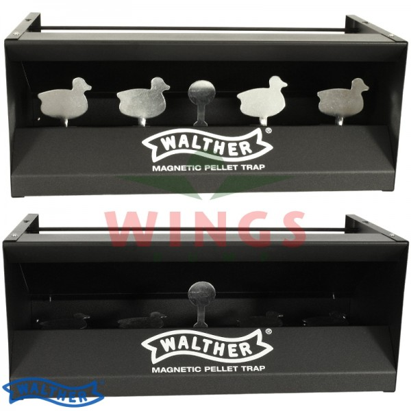 Schietkast staal Walther 4 ducks zwart