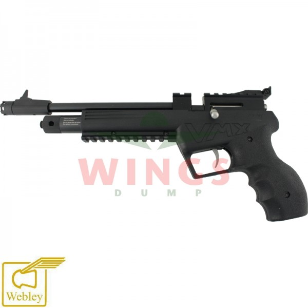 Webley VMX meerschots co2 pistool 4,5 m.m.