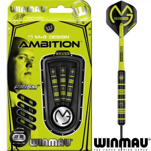 Michael van Gerwen Ambition brass darts 22 gram