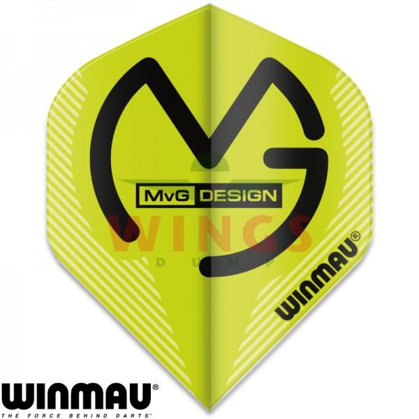 Flights Winmau Michael van Gerwen logo original groen
