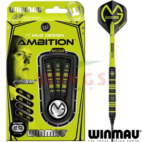 Michael van Gerwen Ambition softtip darts 20 gram