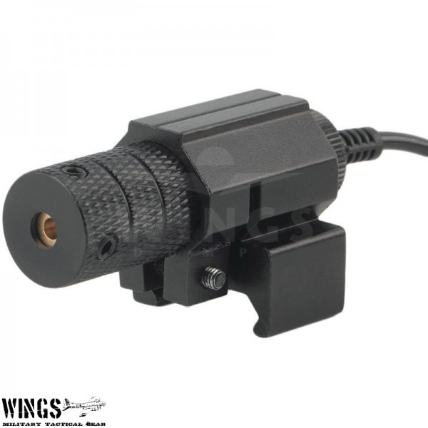 Wings lasersight met remote pressure switch