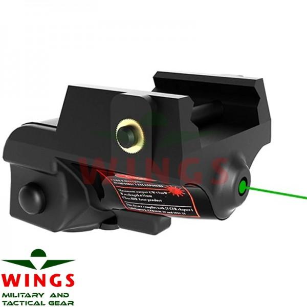 Lasersight Wings Green USB oplaadbaar