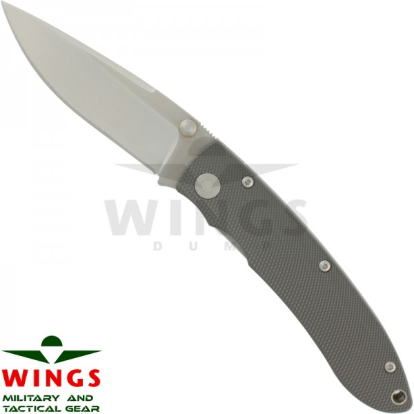 Lockmes Wings Tactical 181 mm alugrey 440staal