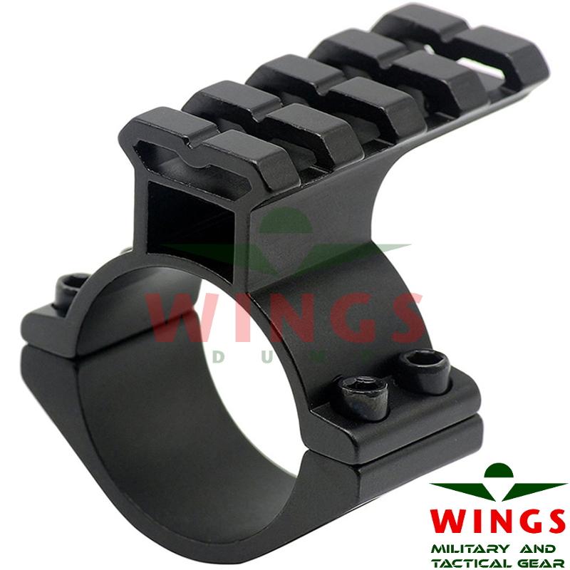Rail base for scope 25mm 45mm lang