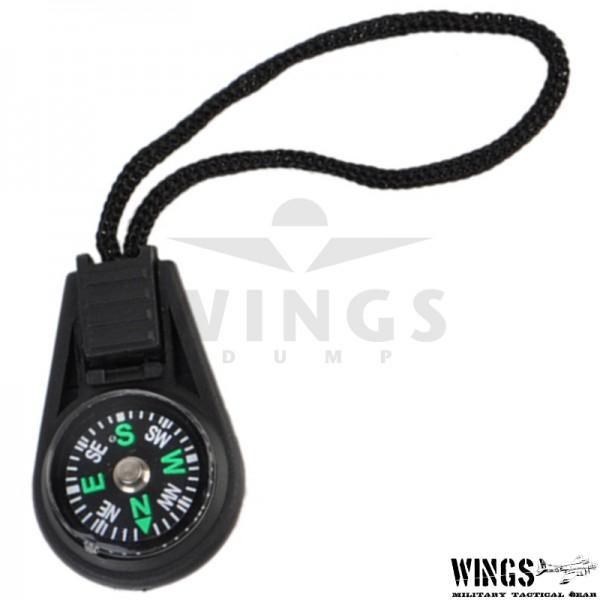Kompas mini met koord