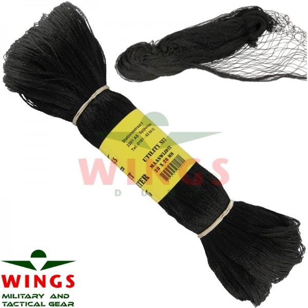 Visnet zwart 5 x 3 meter