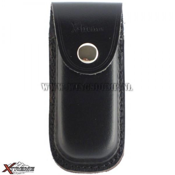 Meshoes X-treme leder zwart 12 cm.