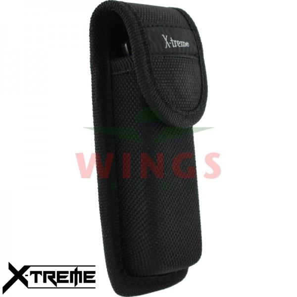 Meshoes X-treme cordura zwart 12 cm.