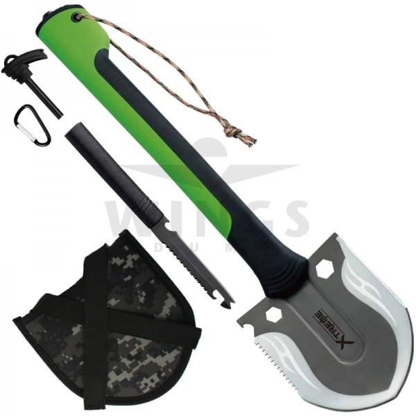 X-treme multi shovel groen 45 cm.