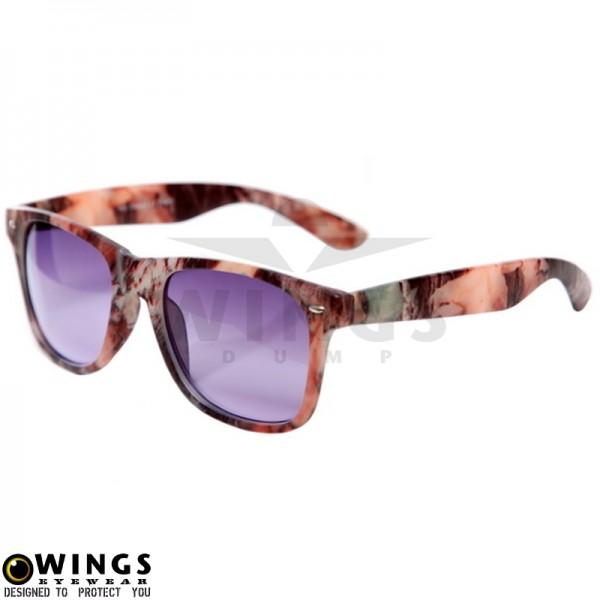 Zonnebril Recon camo frame purple lenses