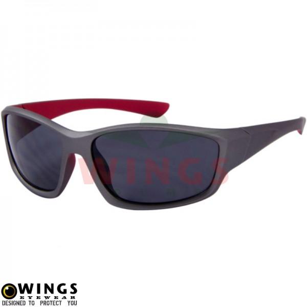 Zonnebril Sports grey/red - grey lens